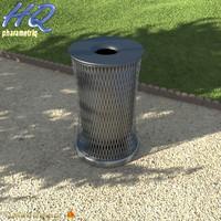 3d wastebasket 08 model