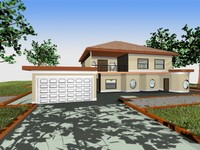 house 2 3d max