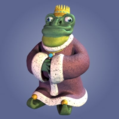 frog king 3d 3ds