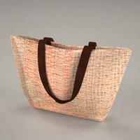 handbag purse 3d model