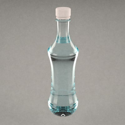 pet bottle 3d model