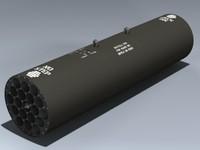 m261 launcher 3d max