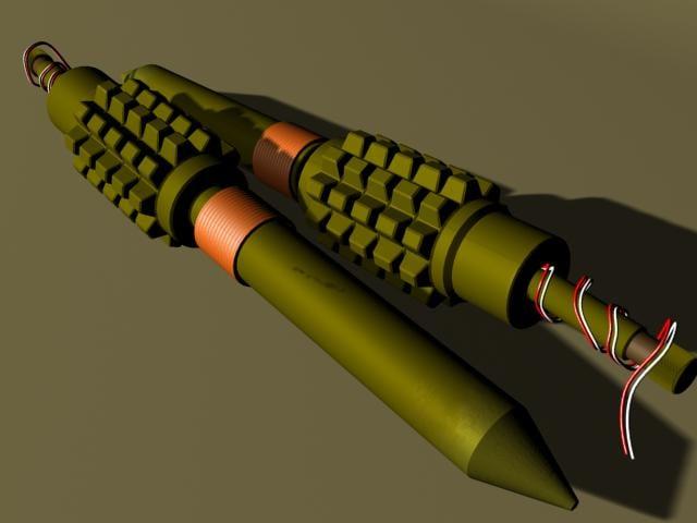 pomz-2m anti-personnel 3d max