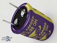 electrolitical capacitor v 2 3d obj