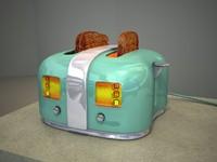 3D Model 2-Slice Toaster