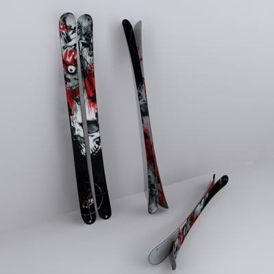 3ds skis hellbent hell