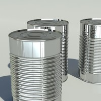 3dsmax tin canned