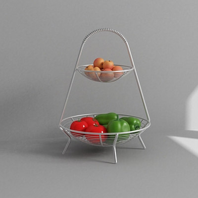 3ds max fruit tray