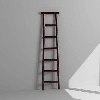 3d model decorative ladder