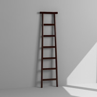 3d model decorative ladder