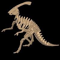 puzzle dinosaur 3d model