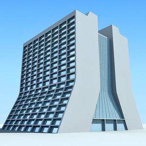 3d dxf building