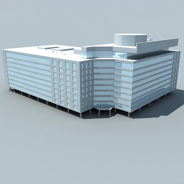 3dsmax building office