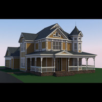 3ds max residential house