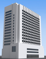 3d max office building 03