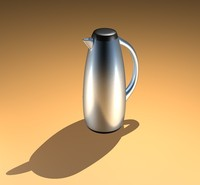 free c4d model thermos flask