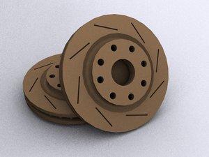 brake 3d model