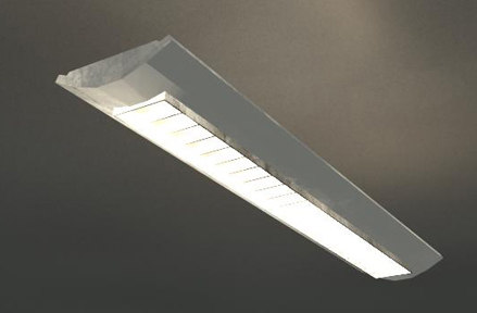 3ds max suspended light fixture
