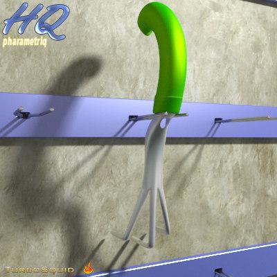 garden tool 02 3d obj