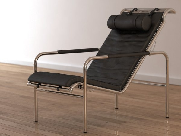 mucchi lounge chair 3d model