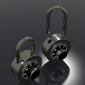 locks treasures sports 3d model