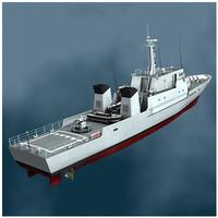 Patrol boat P400 Audacieuse