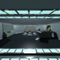 3ds max ufo spacecraft command