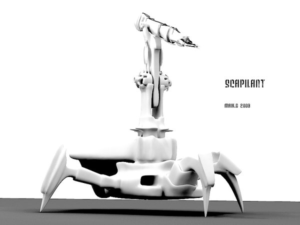 3dsmax robot device