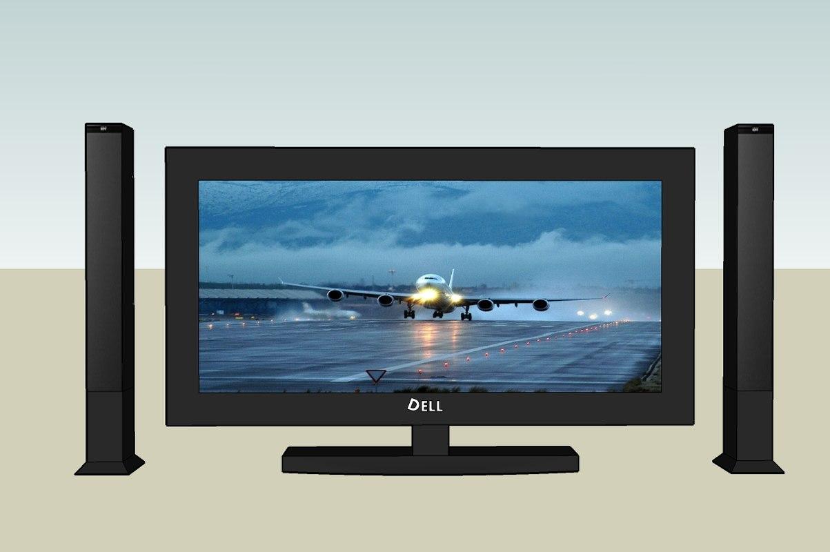 3ds max tv multimedia home