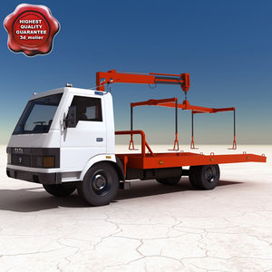 tow truck 3d model