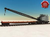 3ds max train crane