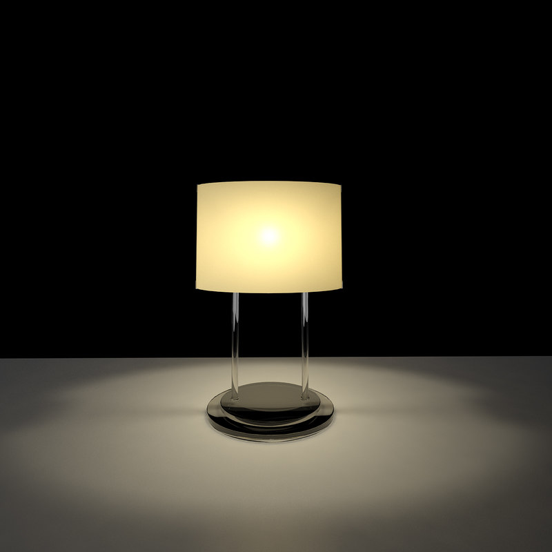 3d vittoria t2 table lamp model
