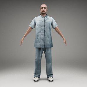 character metropoly 3d model