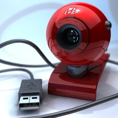 concept usb webcam 3d 3ds