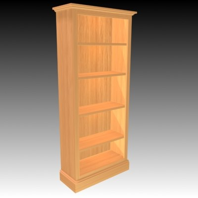bookcase traditional max