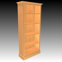 traditional bookcase.zip