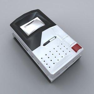 simple entry phone 3d model
