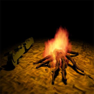 3ds max burn