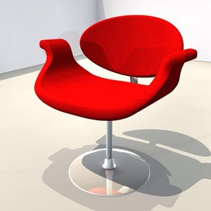 chair red 3ds free