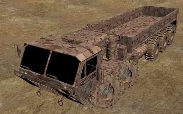 3d hemtt model