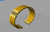 Gold bracelet.3dm