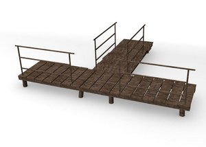 3ds max landing stage