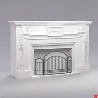 3dsmax fireplace