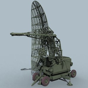 odd pair radar 3d model