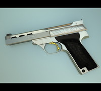 A 3D Model of A Pistol / Handgun