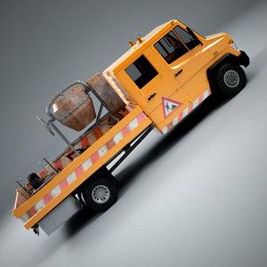truck team repair 3d 3ds