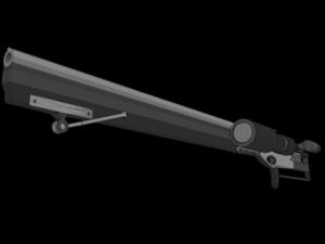 sniper riffle 3d max