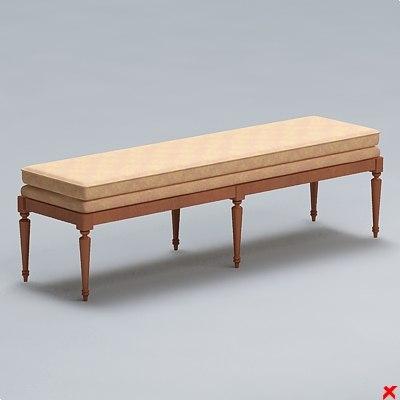 maya bench chair