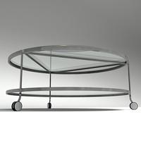 3d model modern table