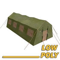 tenda low poly